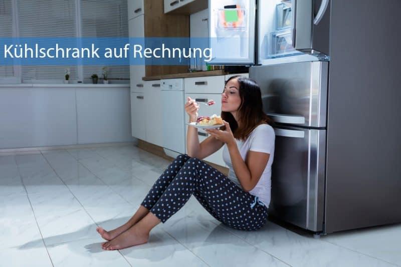 Kühlschrank auf Rechnung