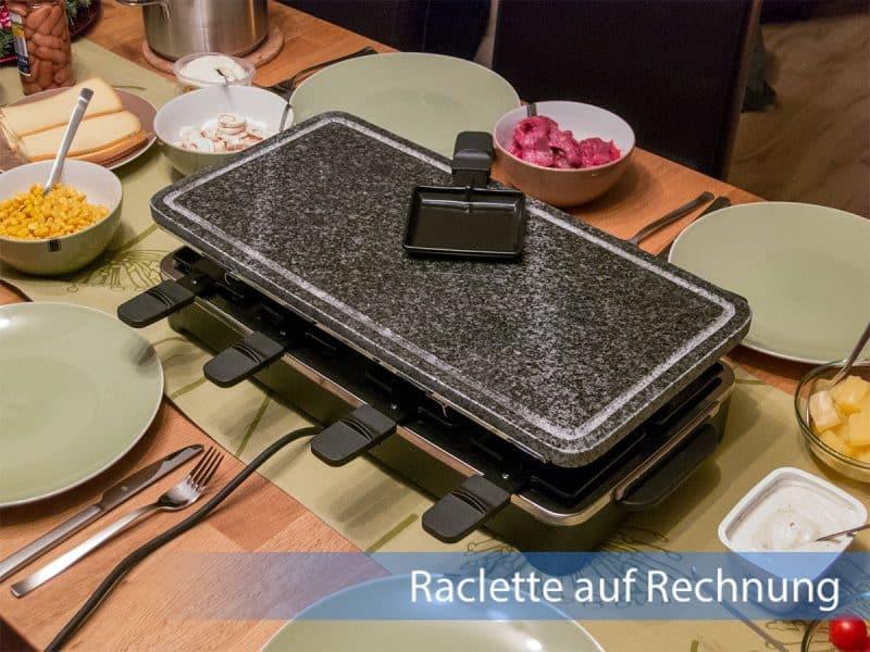 Raclette Grill auf Rechnung