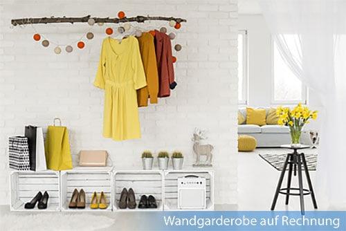 wandgarderobe auf rechnung kaufen bequem online bestellen. Black Bedroom Furniture Sets. Home Design Ideas
