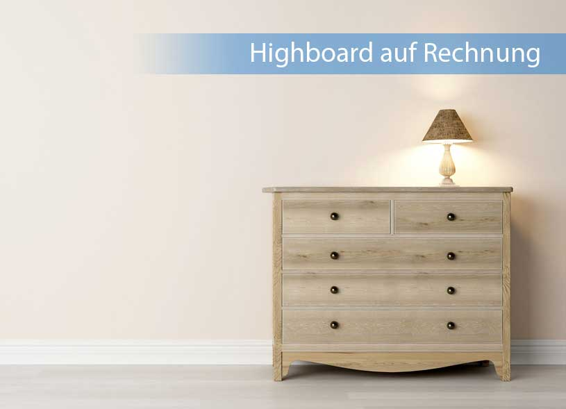 highboard auf rechnung kaufen bequem online bestellen. Black Bedroom Furniture Sets. Home Design Ideas