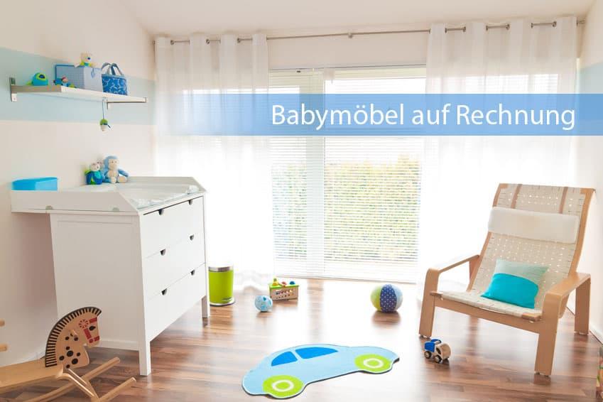 Babymöbel auf Rechnung bestellen