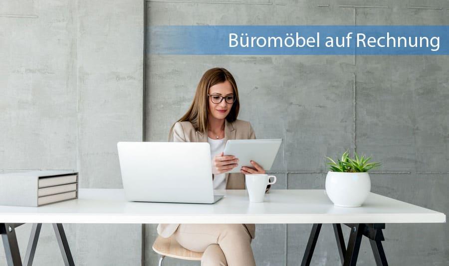 Büromöbel auf Rechnung kaufen