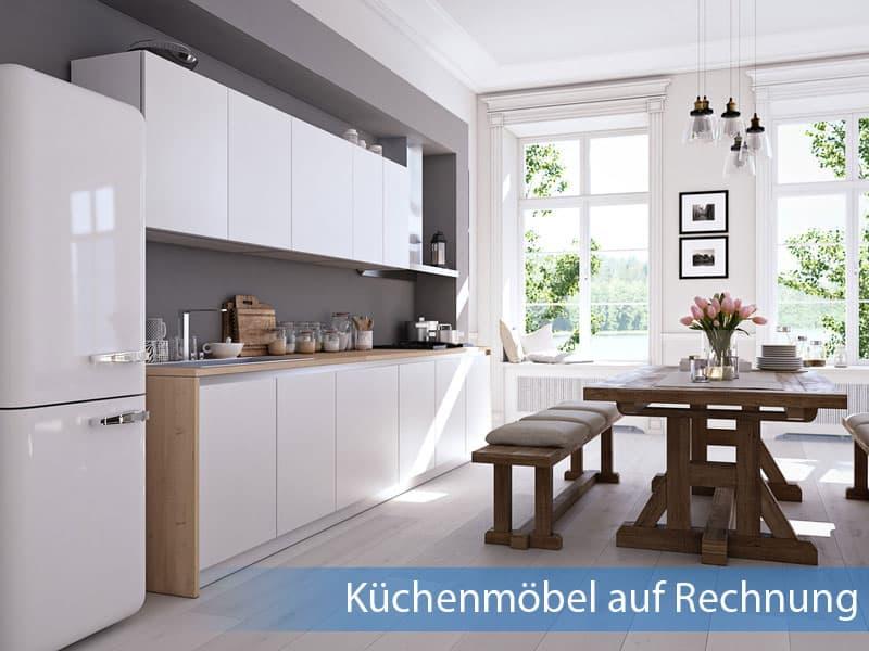 Küchenmöbel auf Rechnung