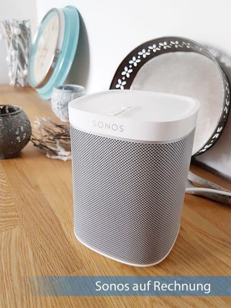 Sonos auf Rechnung - WLAN-Speaker